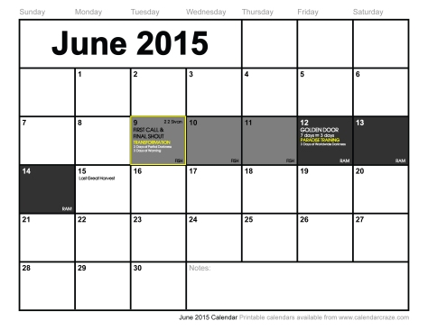 June 9-14